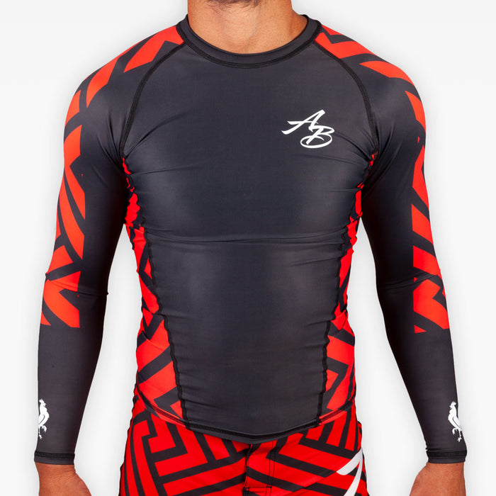 THE ROSE WATER RASHGUARD