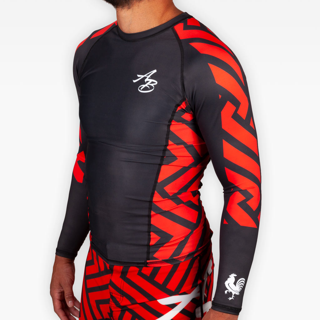 THE ROSE WATER RASHGUARD -  - The Arm Bar Soap Company