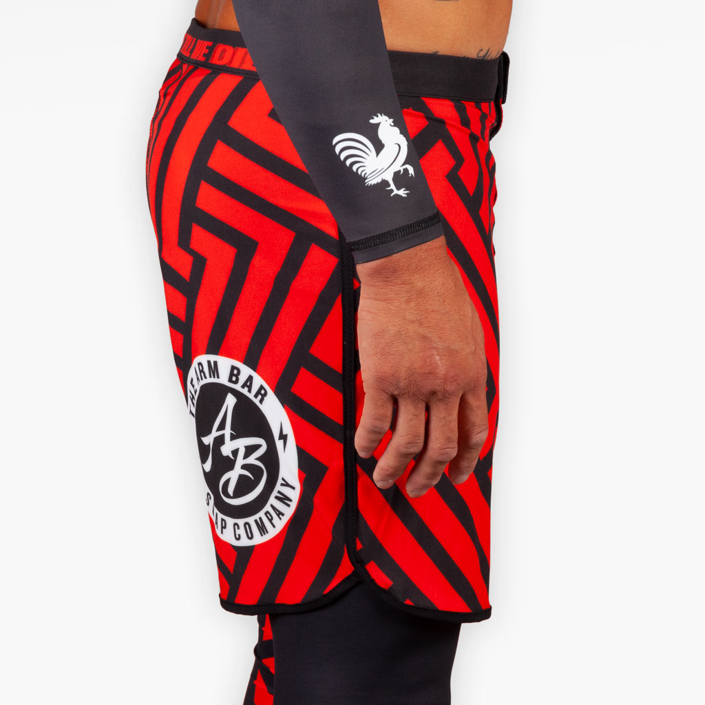 THE ROSE WATER TRAINING SHORTS - Apparel - The Arm Bar Soap Company