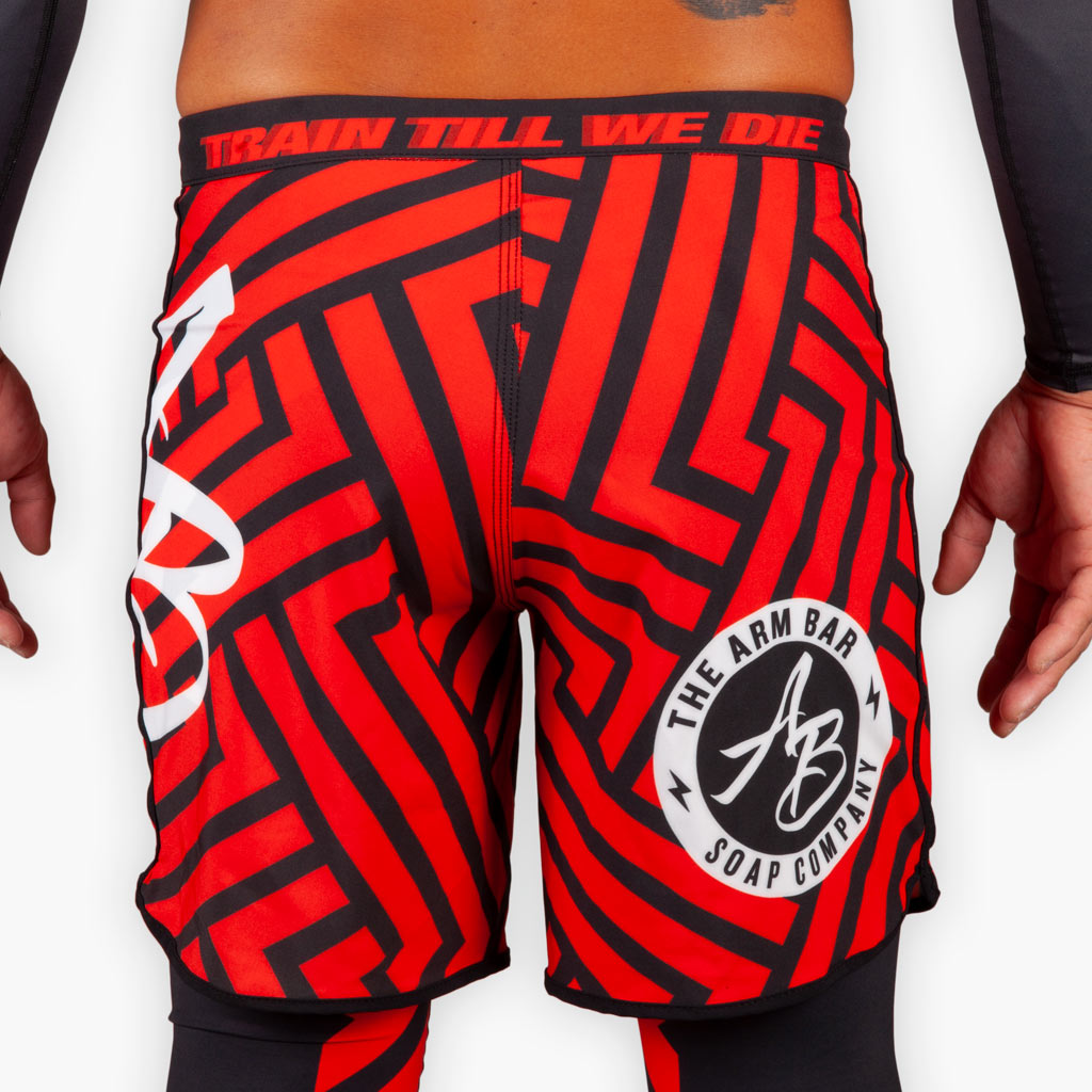 THE ROSE WATER TRAINING SHORTS -  - The Arm Bar Soap Company