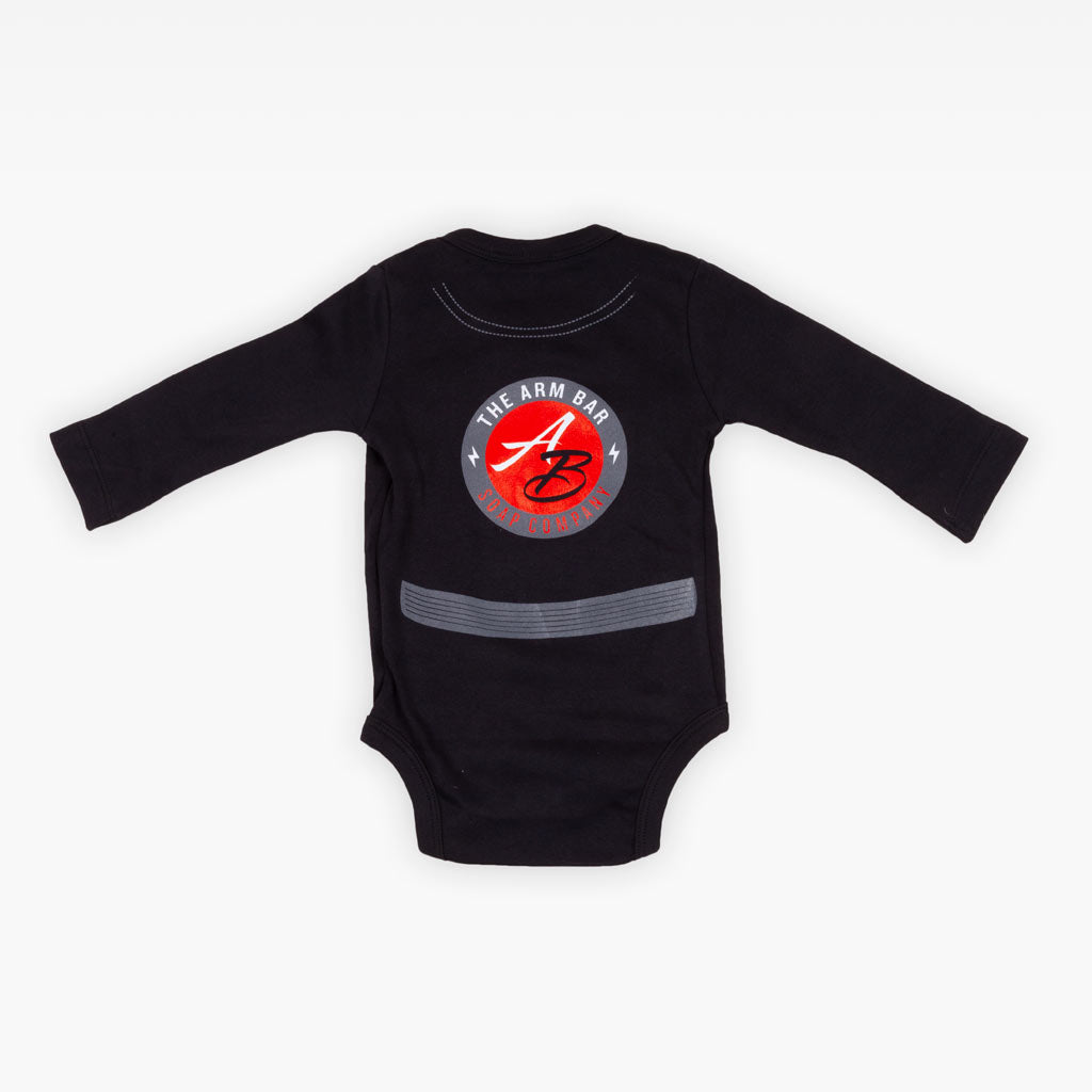 The First Born Onesie - Black - Apparel - The Arm Bar Soap Company