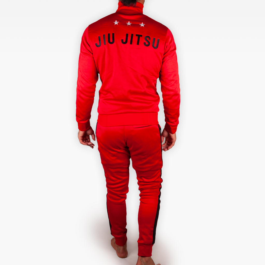 The Official Issue Track Suit - CRIMSON - Apparel - The Arm Bar Soap Company
