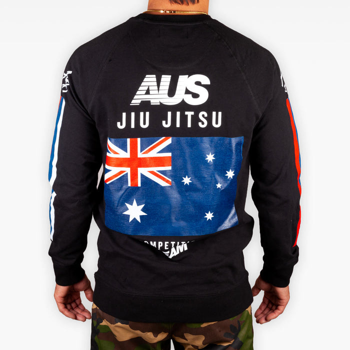 The AUS Competition Team Crew Sweatshirt - Limited Edition - Apparel - The Arm Bar Soap Company
