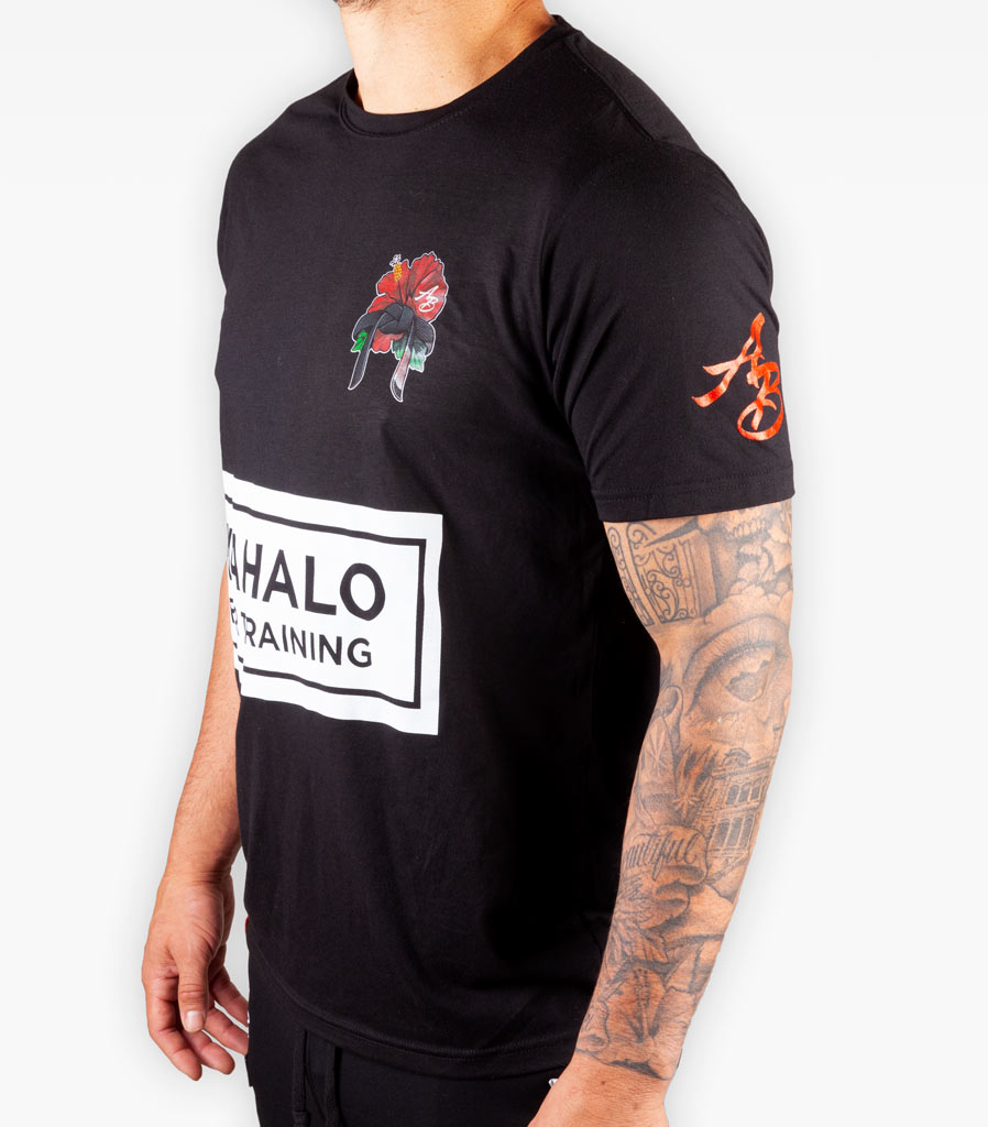 The Mahalo Tee - Black - Apparel - The Arm Bar Soap Company