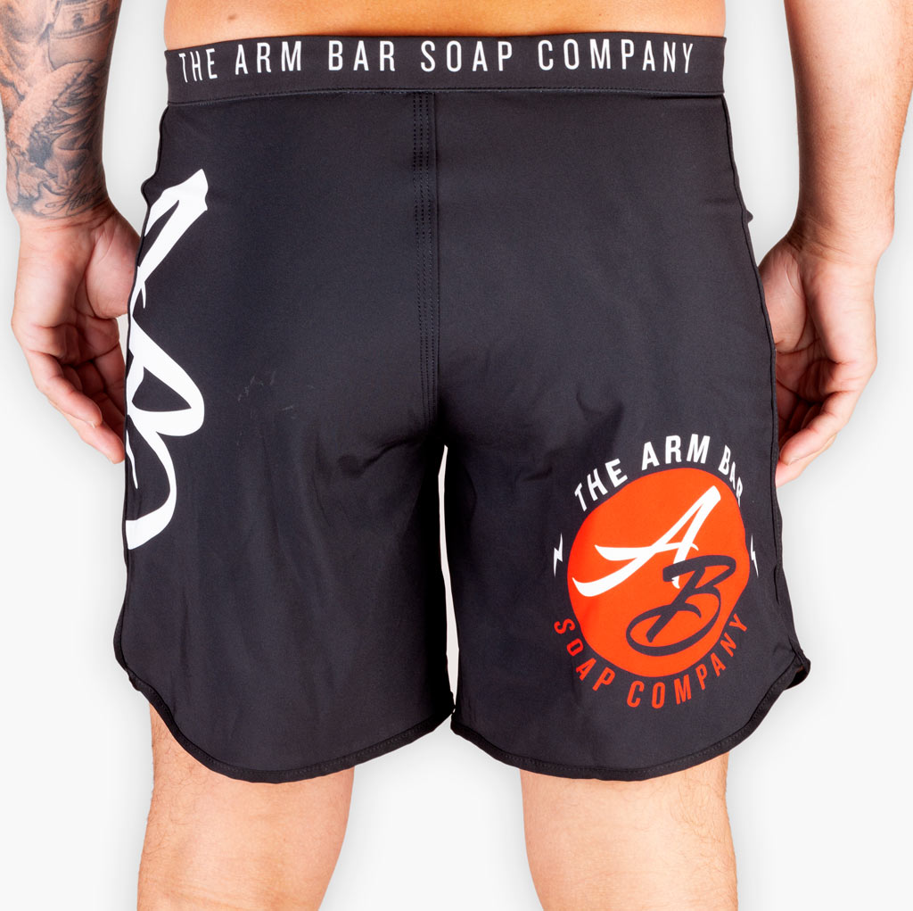 The Official Issue Competition Shorts - V2 (Shorter Cut) - Apparel - The Arm Bar Soap Company