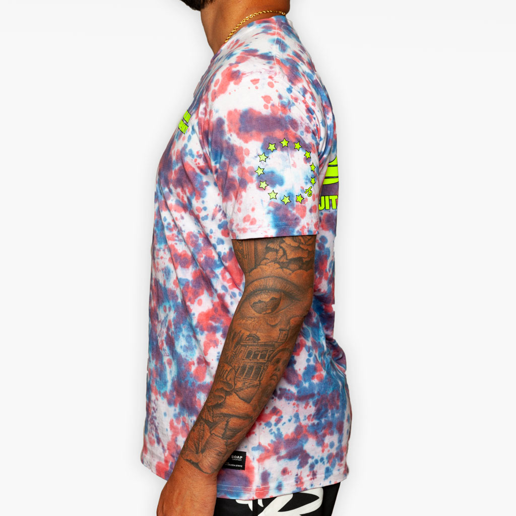 The USA Tye Dye Tee - Apparel - The Arm Bar Soap Company