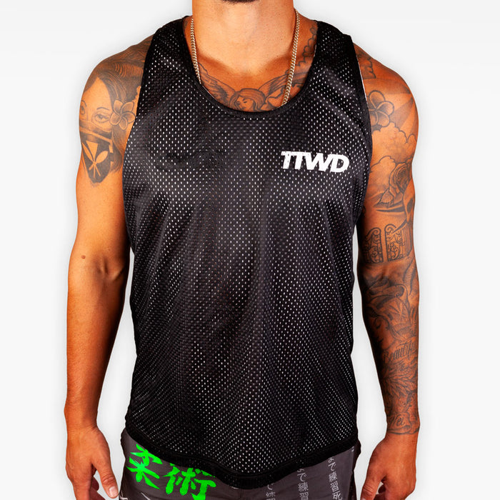 Reversible Mesh TTWD Tank - Apparel - The Arm Bar Soap Company