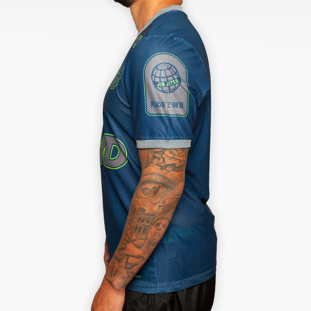 Training Jersey- Navy + Volt -  - The Arm Bar Soap Company