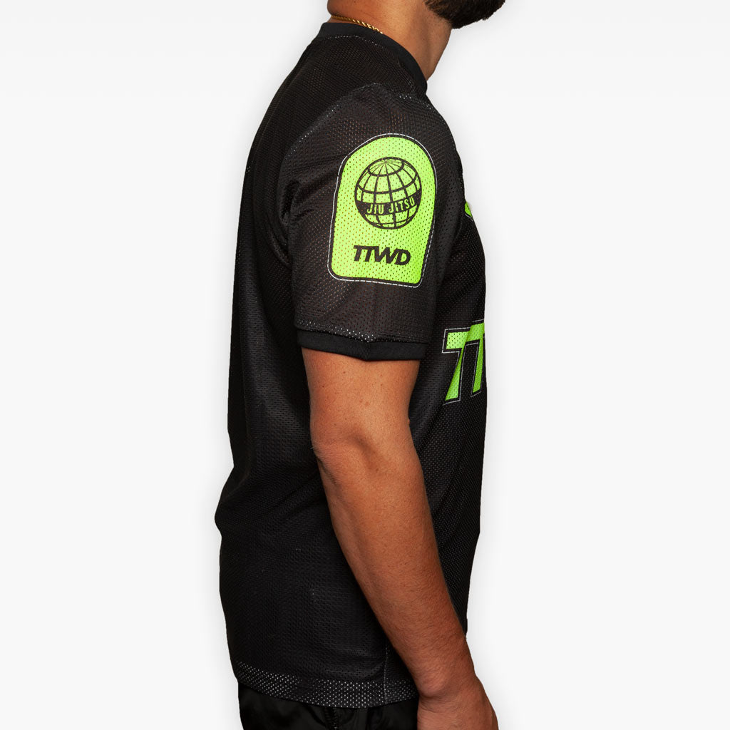 Training Jersey - Black + Volt