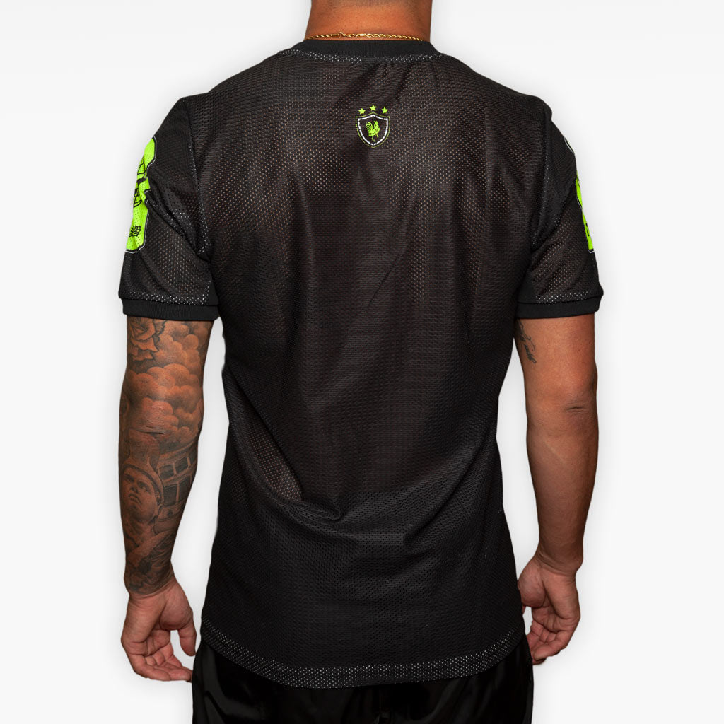Training Jersey - Black + Volt -  - The Arm Bar Soap Company