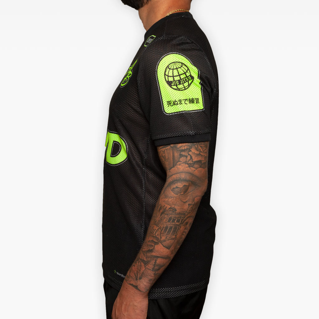 Training Jersey - Black + Volt - Apparel - The Arm Bar Soap Company
