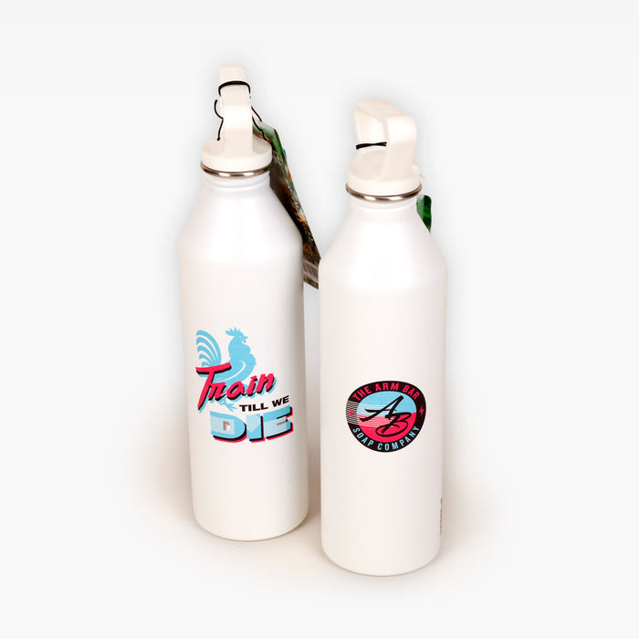 ARM BAR X MIIR™ 27oz. Hydro Vice Bottle - White -  - The Arm Bar Soap Company