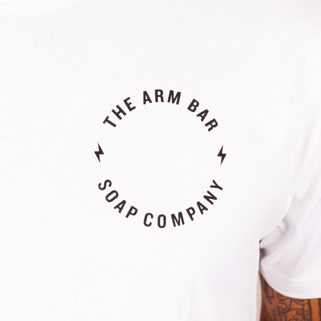 The Supima® Missing Logo Tee - Apparel - The Arm Bar Soap Company