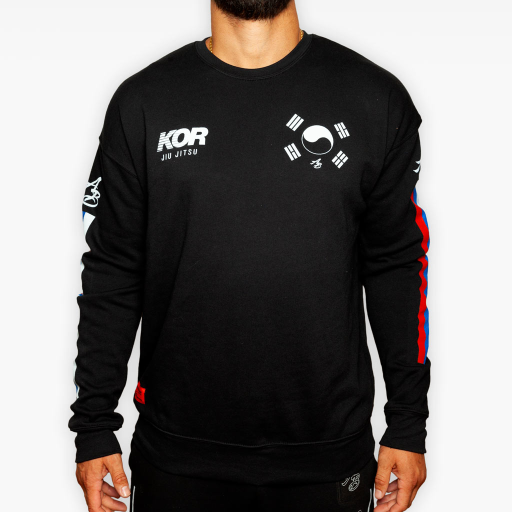 THE KOR COMPETITION TEAM CREW SWEATSHIRT - Apparel - The Arm Bar Soap Company