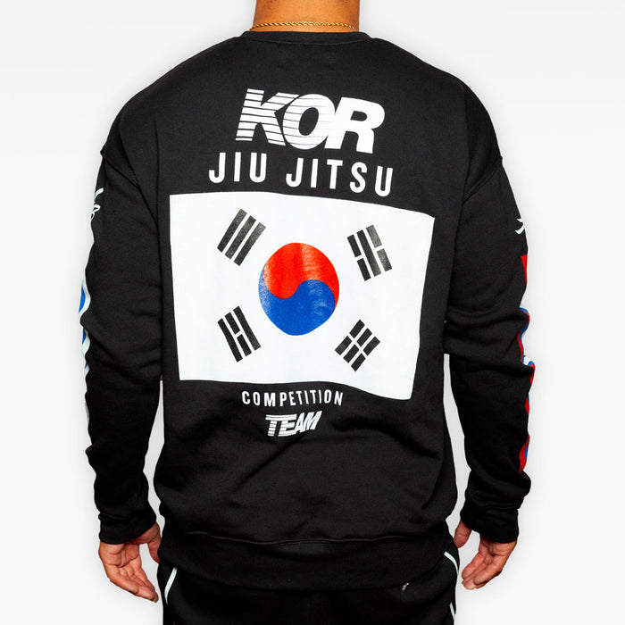 THE KOR COMPETITION TEAM CREW SWEATSHIRT
