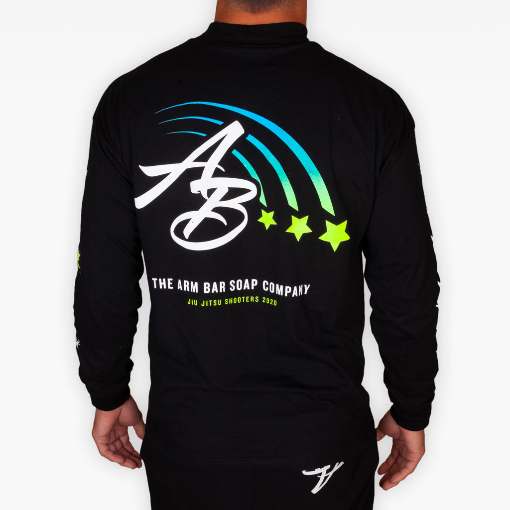 The Star Studded Mock Neck Longsleeve Tee -  - The Arm Bar Soap Company