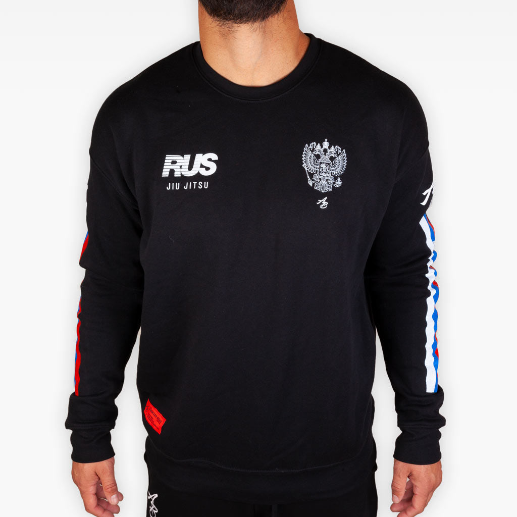 THE  RUS COMPETITION TEAM CREW SWEATSHIRT -  - The Arm Bar Soap Company