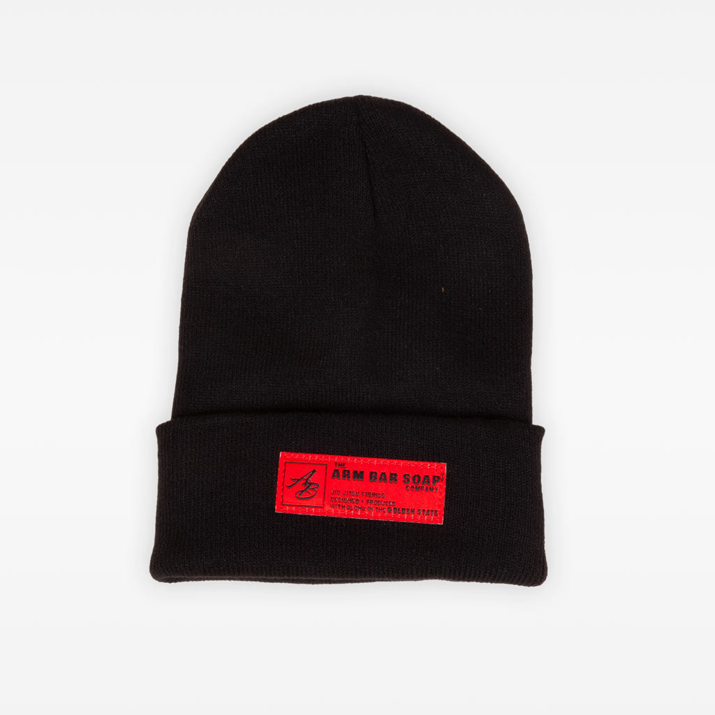 The TTWD Cuff Beanie - Black - Accessories - The Arm Bar Soap Company