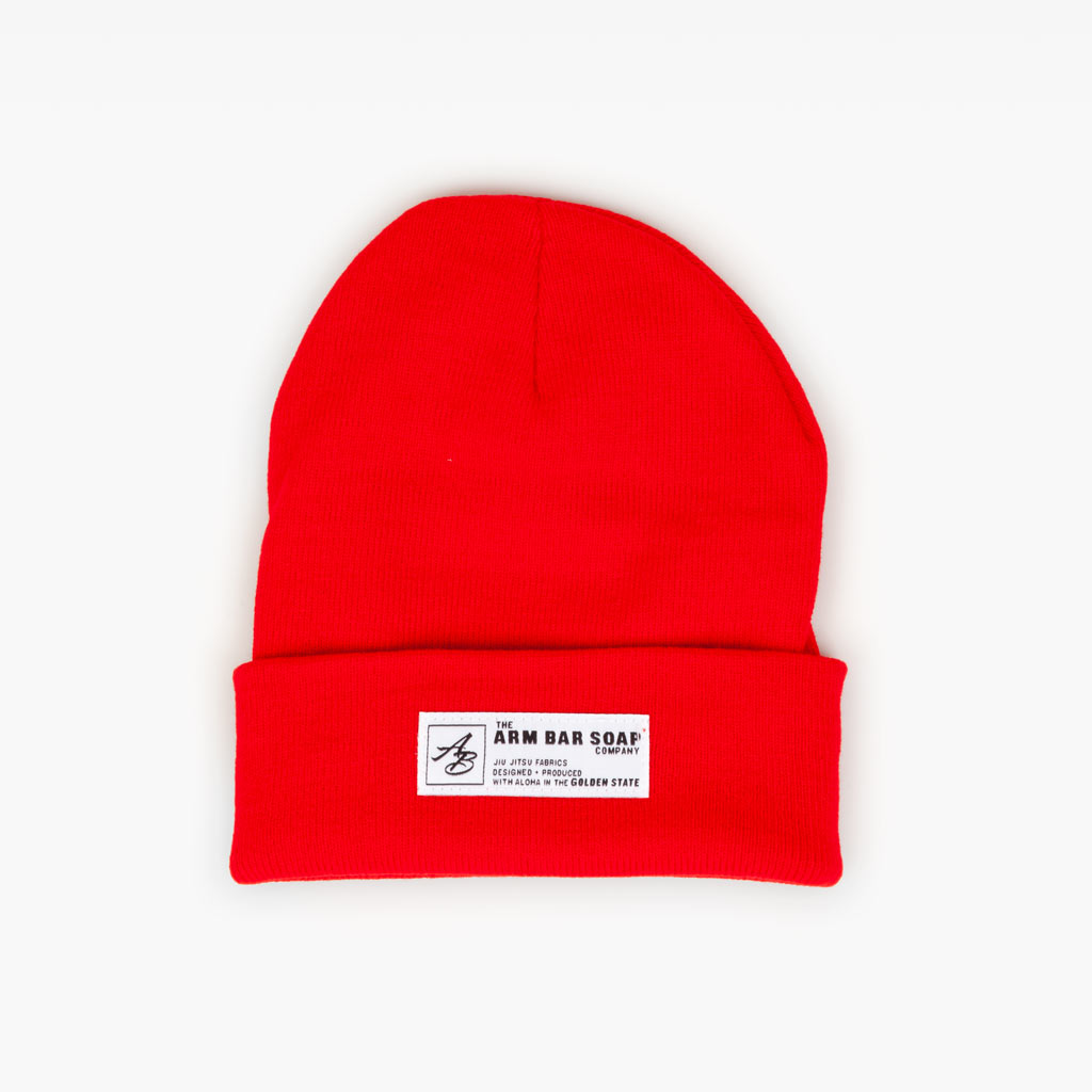 The TTWD Cuff Beanie - Crimson - Accessories - The Arm Bar Soap Company