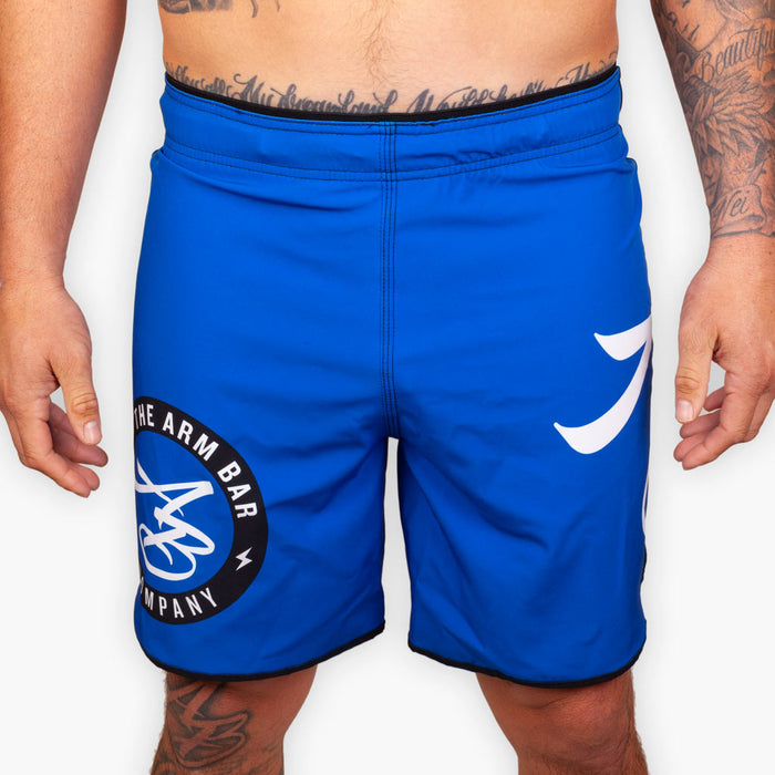 Hybrid No Gi Competition Shorts - Blue - Apparel - The Arm Bar Soap Company