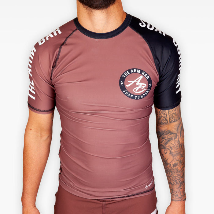 No Gi Competition Rashguard - Brown