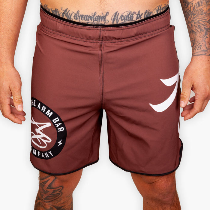 Hybrid No Gi Competition Shorts - Brown