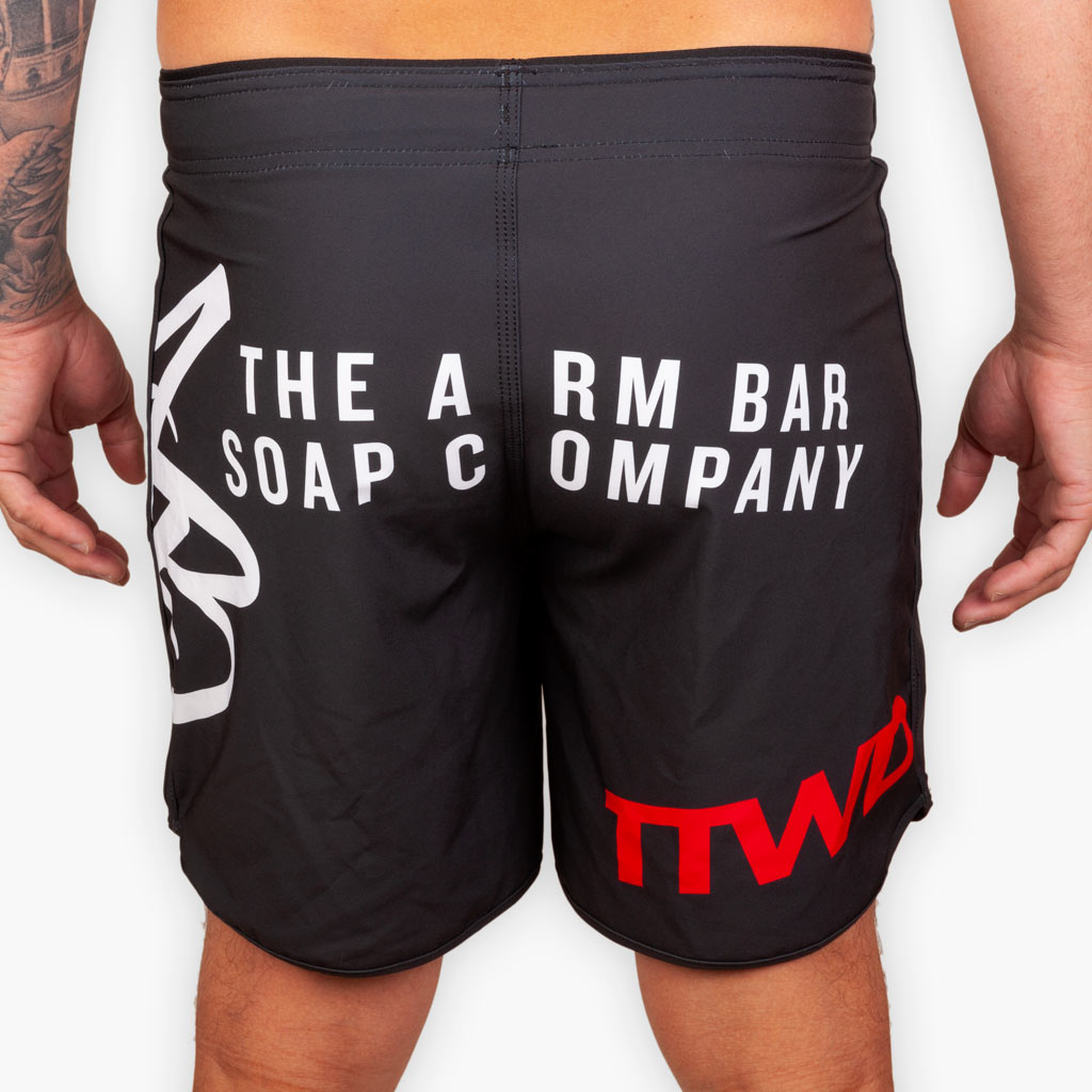 Hybrid No Gi Competition Shorts - Black - Apparel - The Arm Bar Soap Company