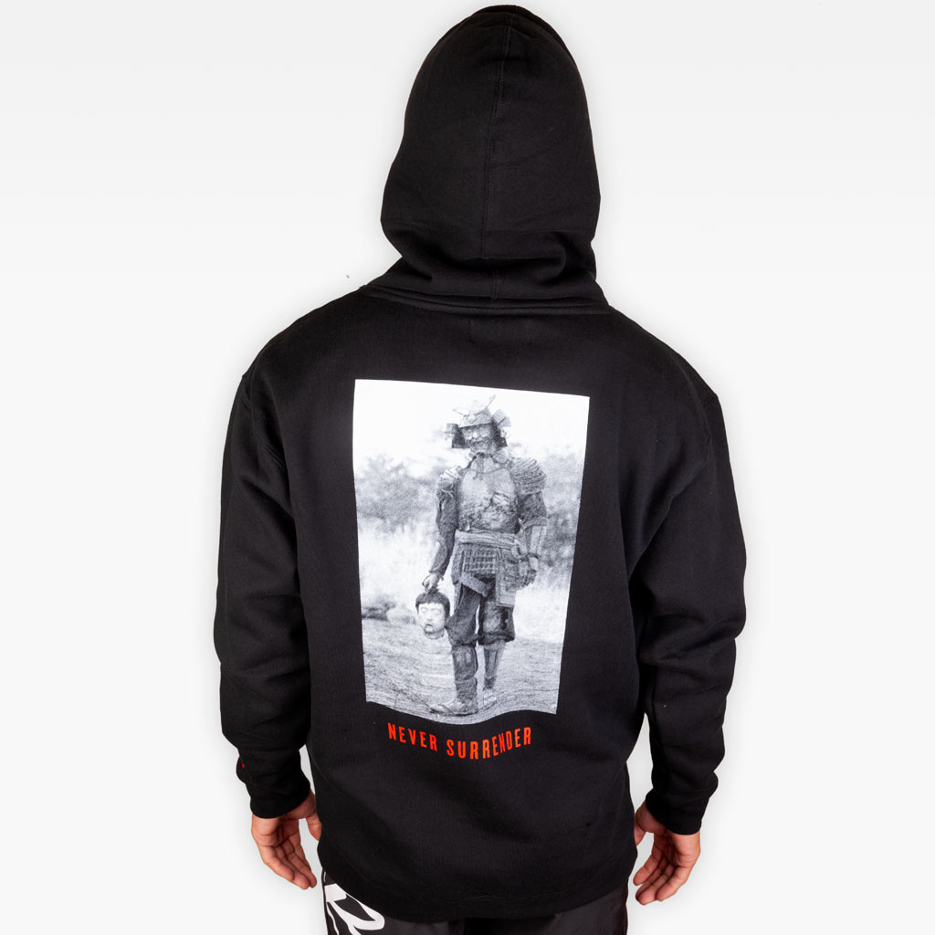 The Never Surrender Hoodie - Apparel - The Arm Bar Soap Company