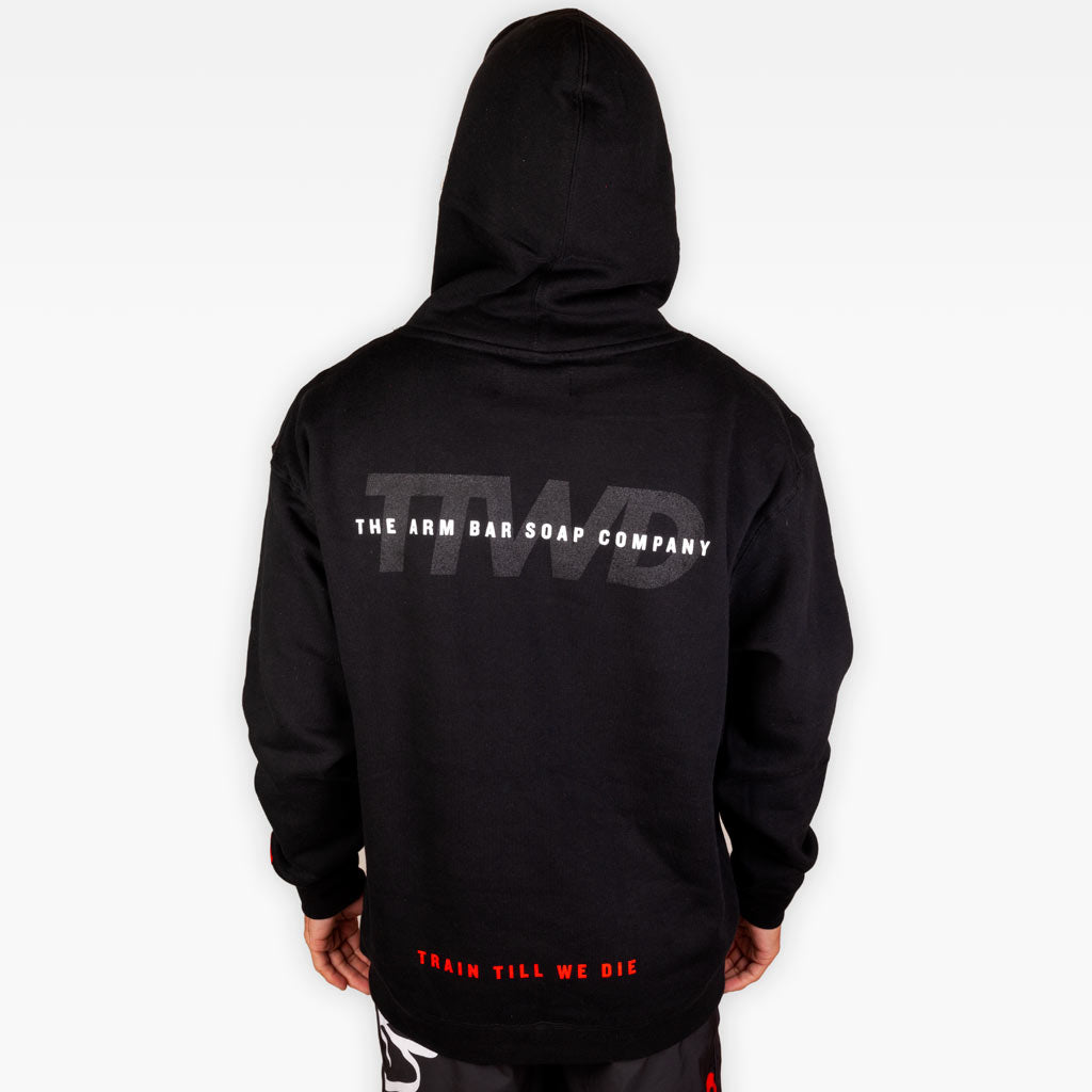 The Official Issue Hoodie 8 - Black - Apparel - The Arm Bar Soap Company