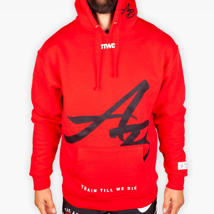 The Official Issue Hoodie 8 - Crimson - Apparel - The Arm Bar Soap Company