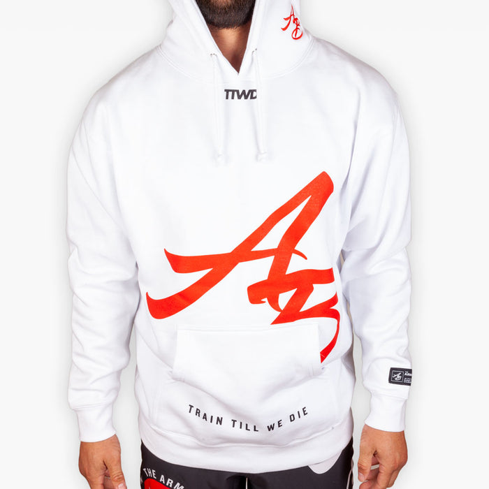 The Official Issue Hoodie 8 - White - Apparel - The Arm Bar Soap Company