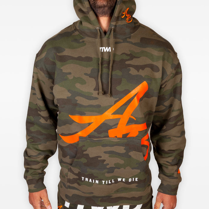 The Official Issue Hoodie 8 - Camo - Apparel - The Arm Bar Soap Company