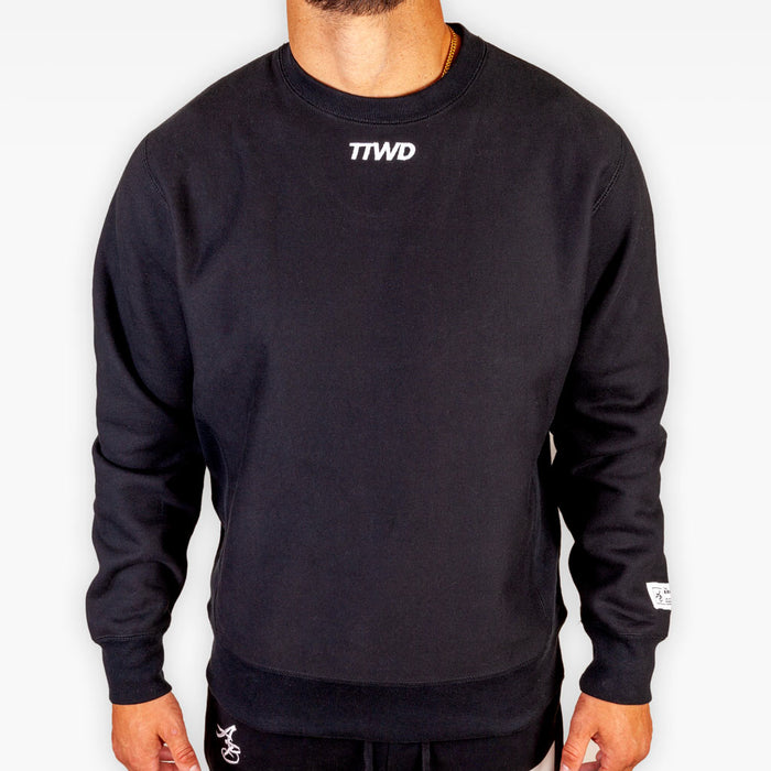 The TTWD Legend Crew Sweatshirt - Black - Apparel - The Arm Bar Soap Company