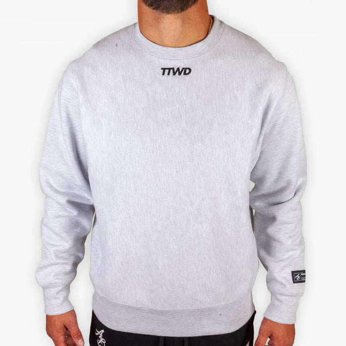 The TTWD Legend Crew Sweatshirt - Heather Grey - Apparel - The Arm Bar Soap Company