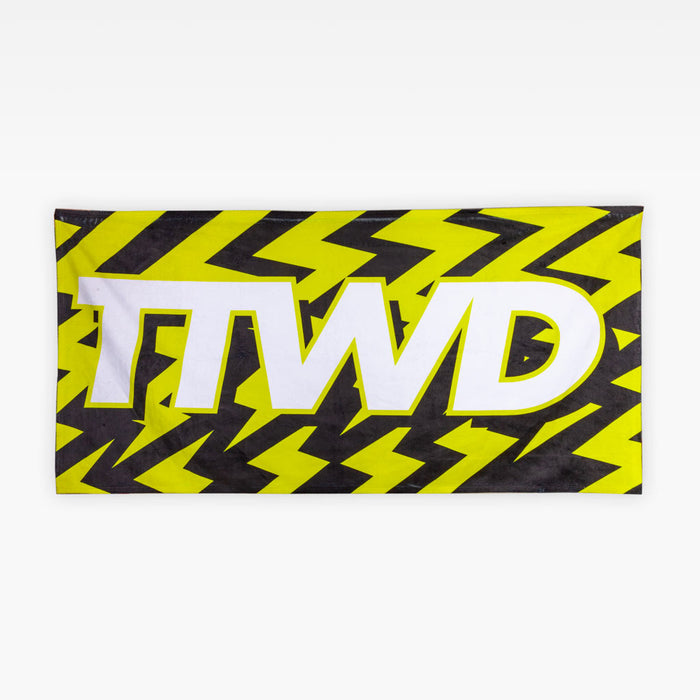 The TTWD Bolt Logo Towel - Accessories - The Arm Bar Soap Company