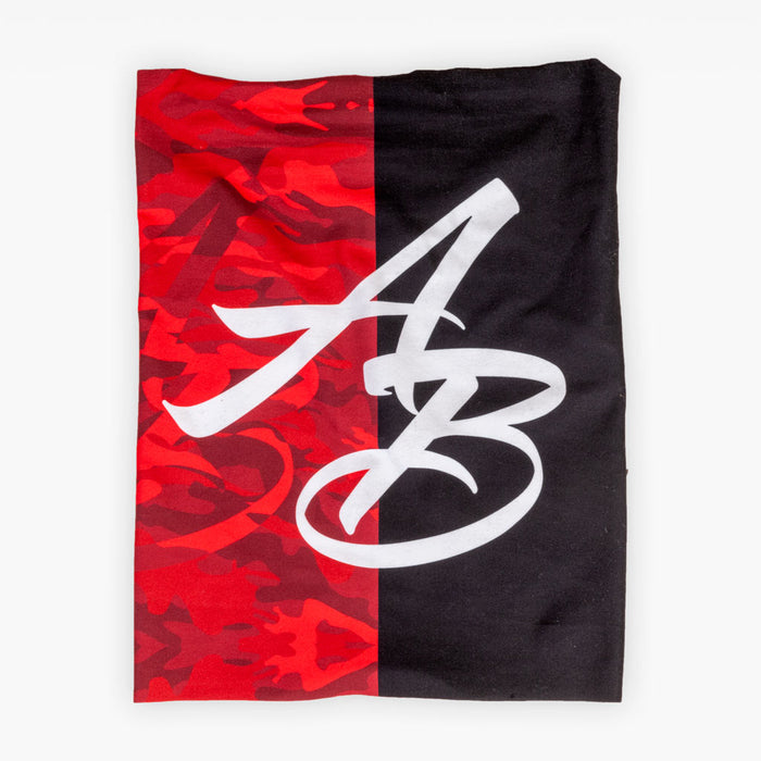 The Official Issue Gaiter - Red Camo + Black - Accessories - The Arm Bar Soap Company