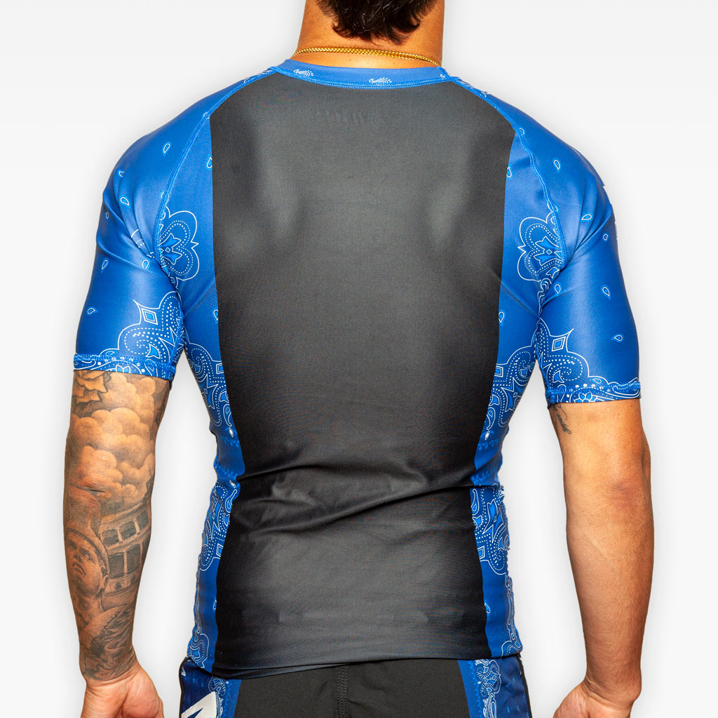 The Bandana Rashguard - Blue - Apparel - The Arm Bar Soap Company