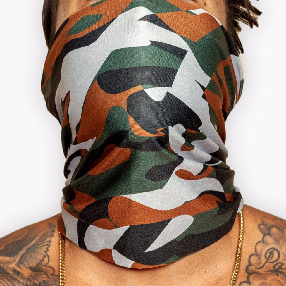 The Official Issue Gaiter - Subdued Camo - Accessories - The Arm Bar Soap Company