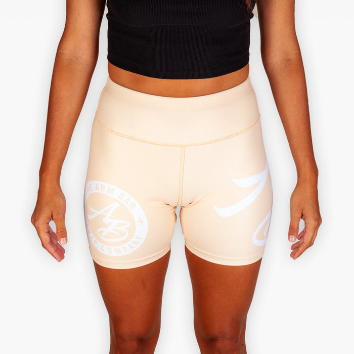 The Women's No Gi Competition Compression Shorts - Creamsicle