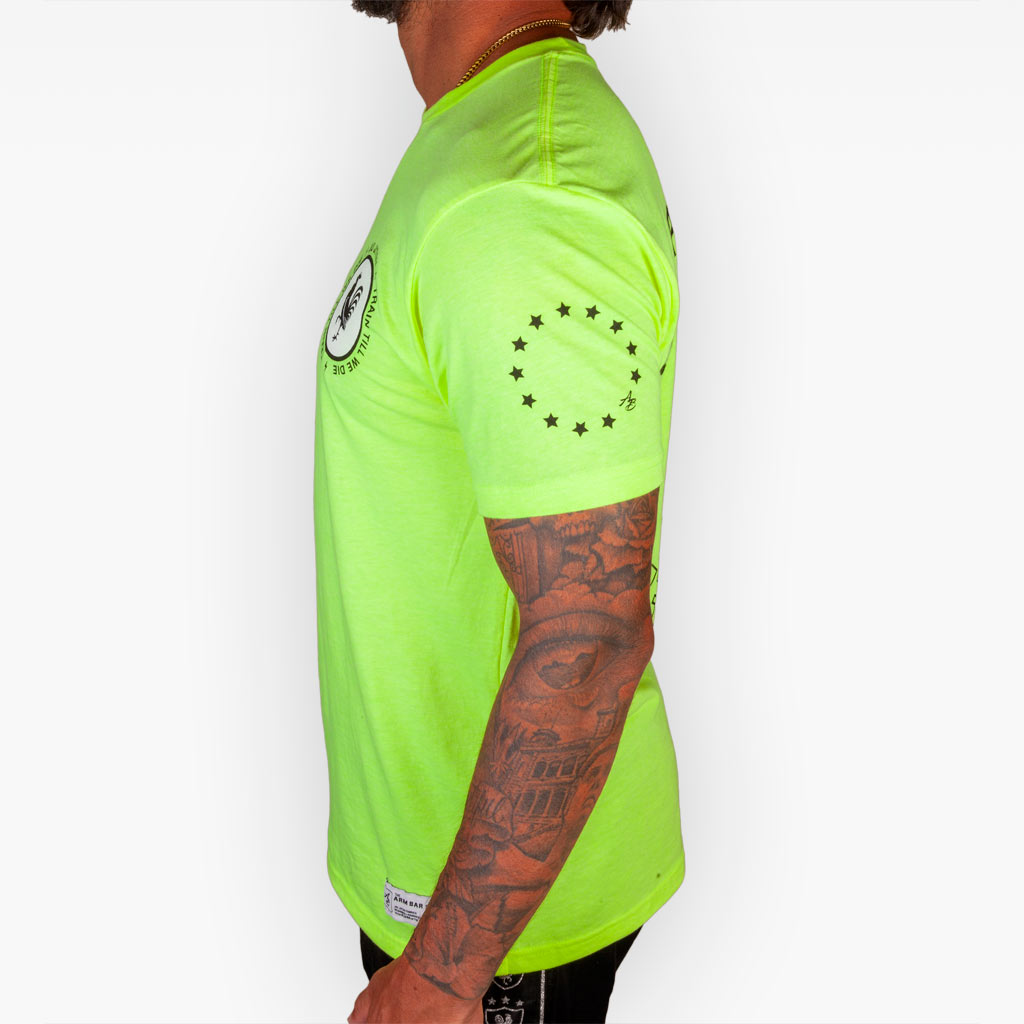 The Summer Road Work Tee - Neon Yellow