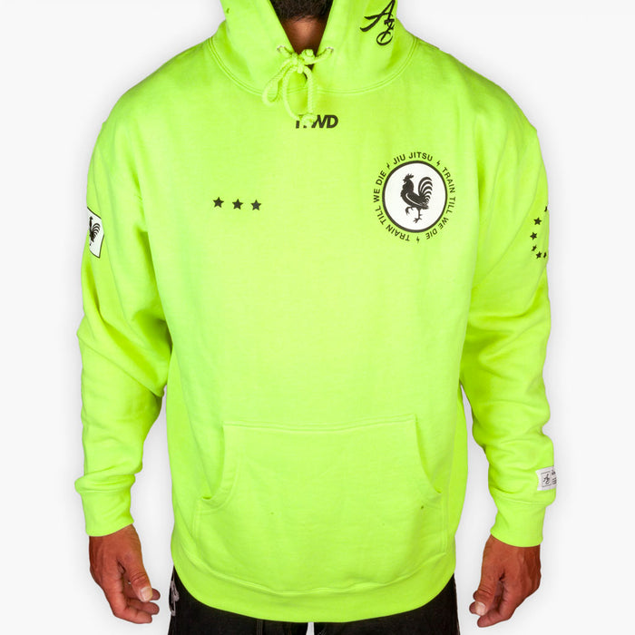 The Summer Road Work Hoodie - Neon Yellow