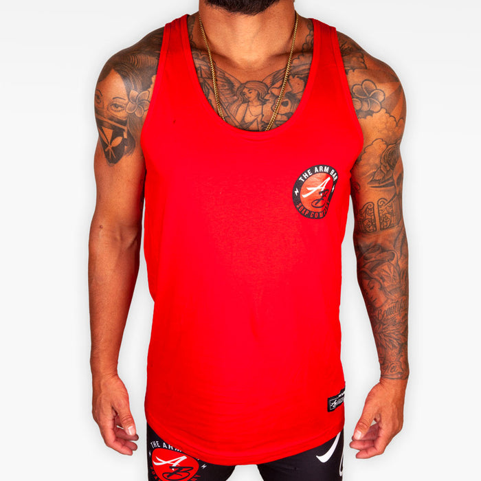The Official Logo Tank - Crimson
