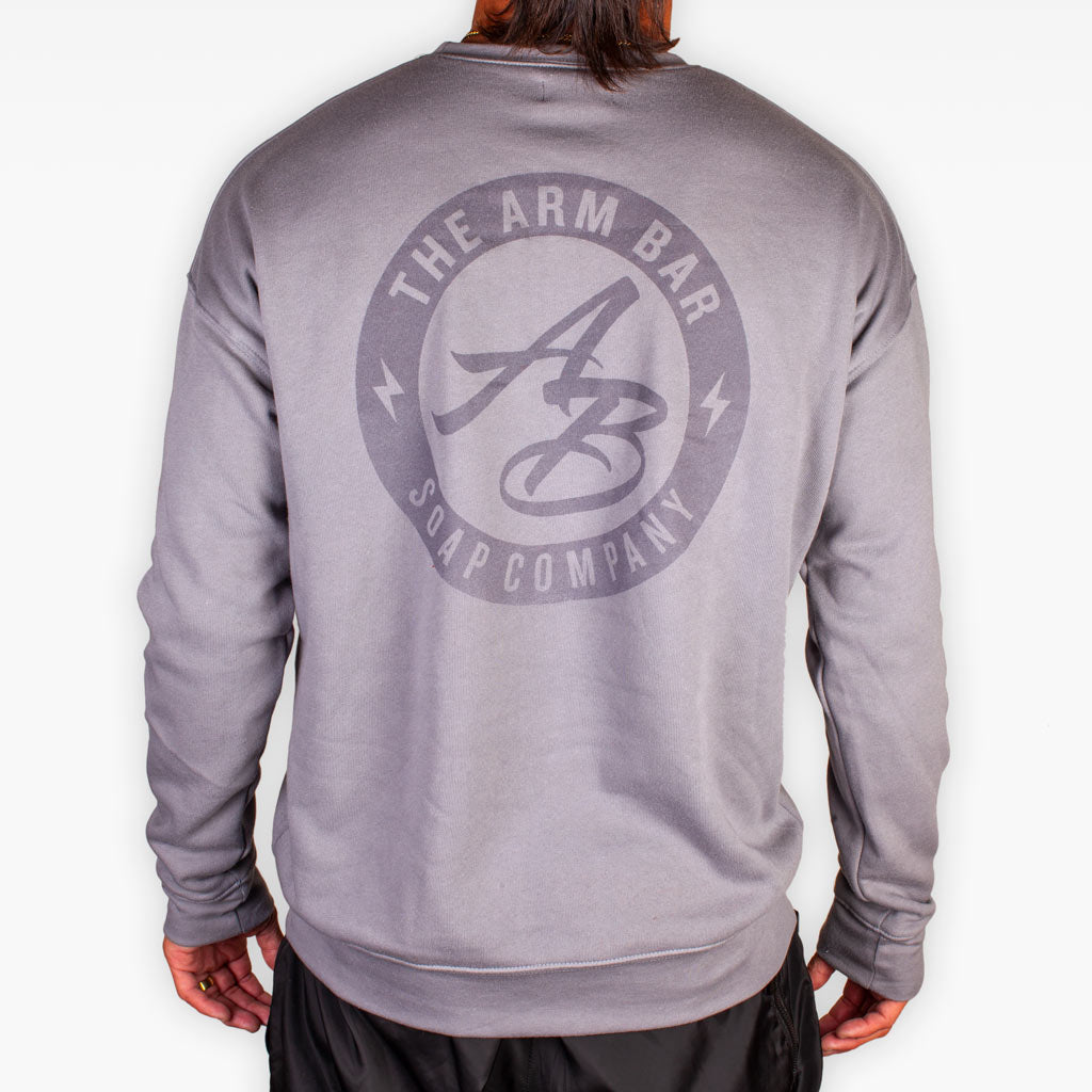 The Clear Logo Fleece Sweatshirt - Storm