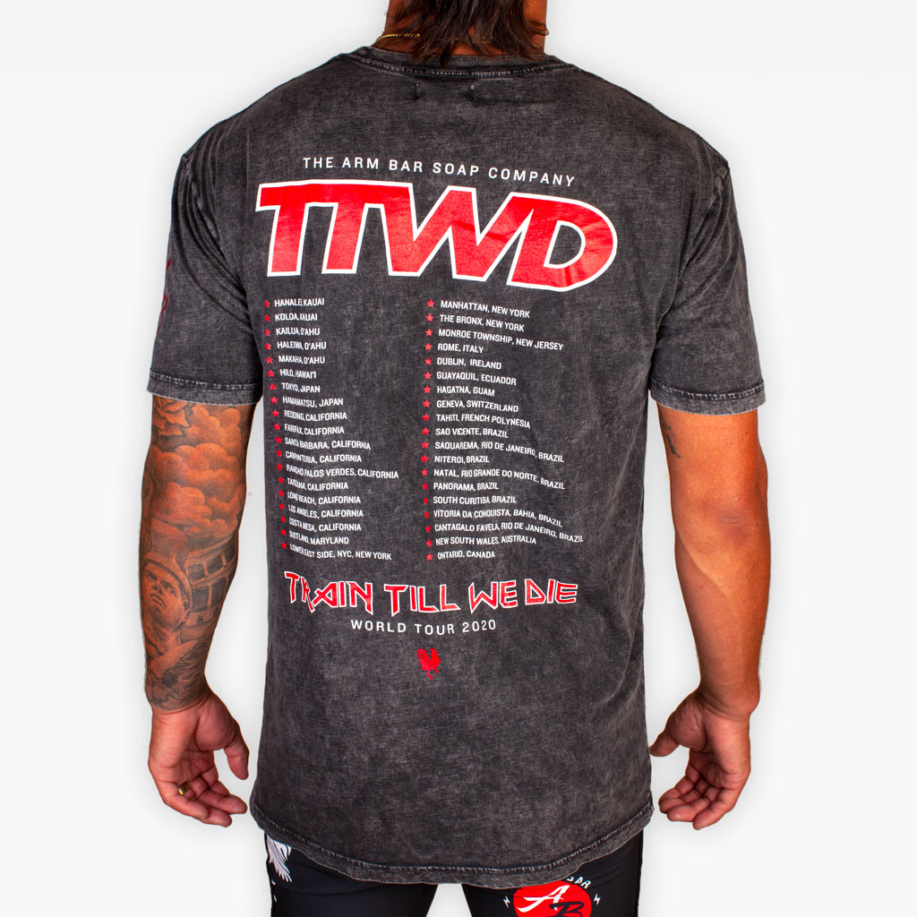 The TTWD World Tour Tee
