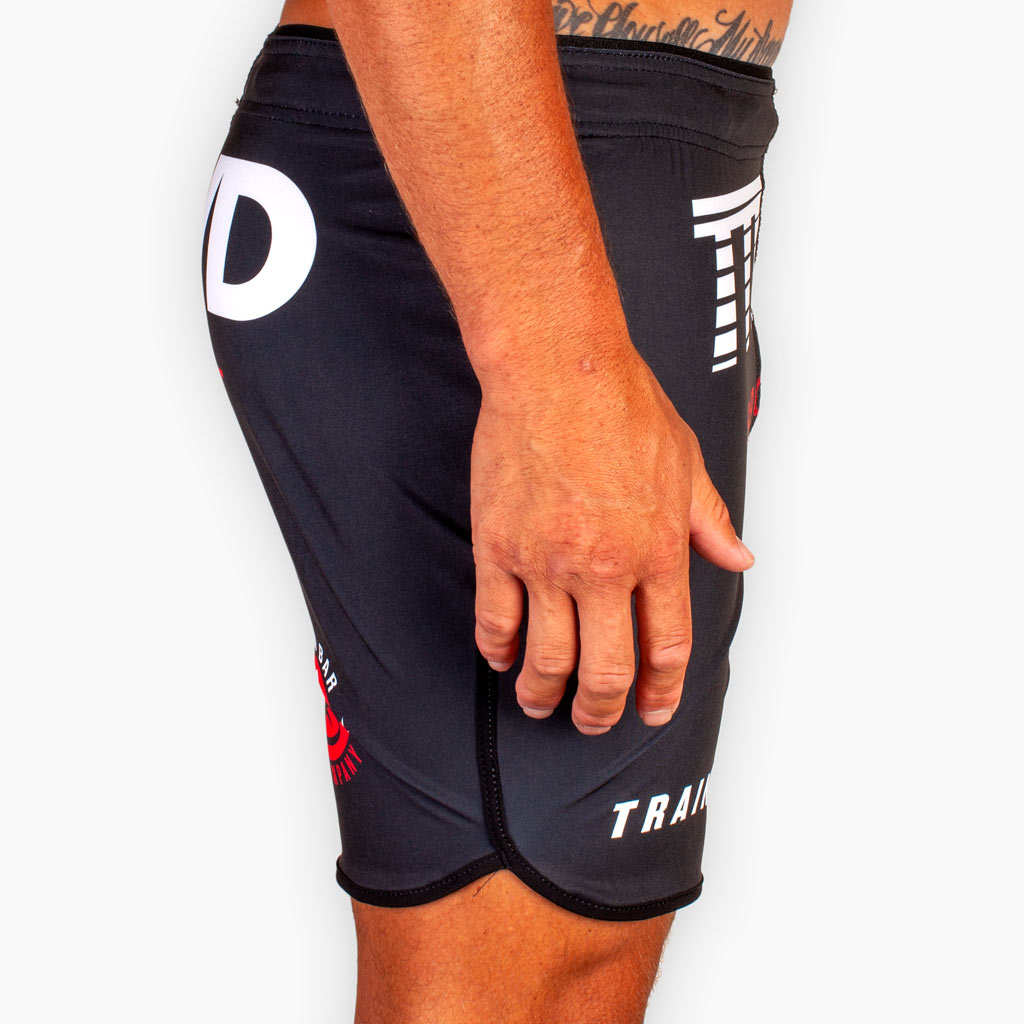 THE TTWD SPORT FITTED TRAINING SHORTS - Black