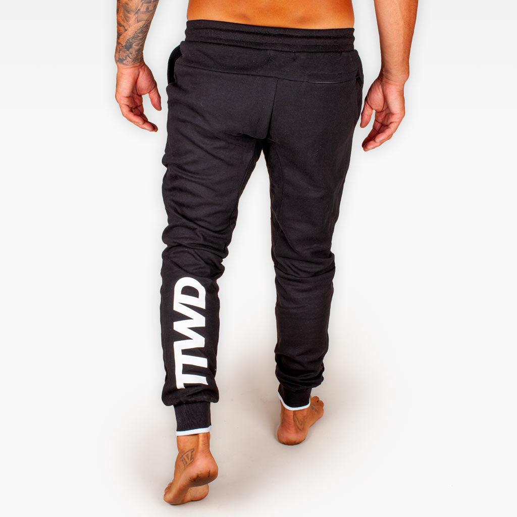 The Official Issue TTWD Track Pants - Black