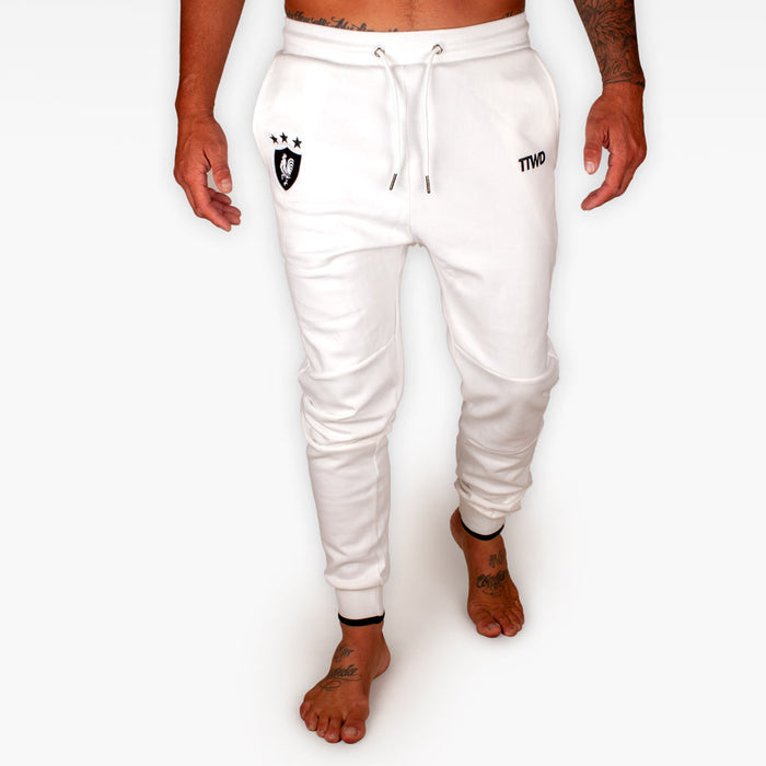 The Official Issue TTWD Track Pants - White