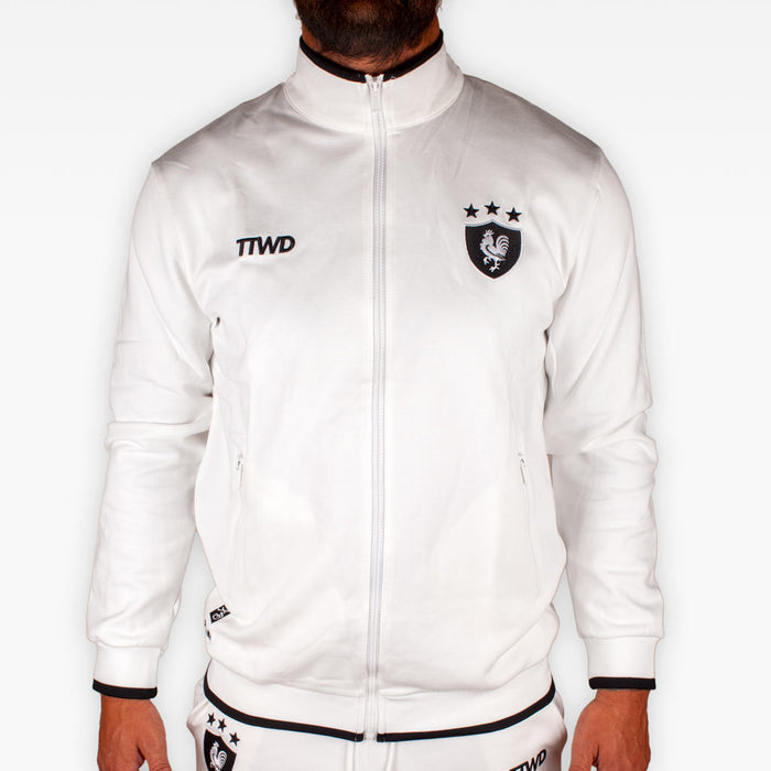 The Official Issue TTWD Track Jacket - White