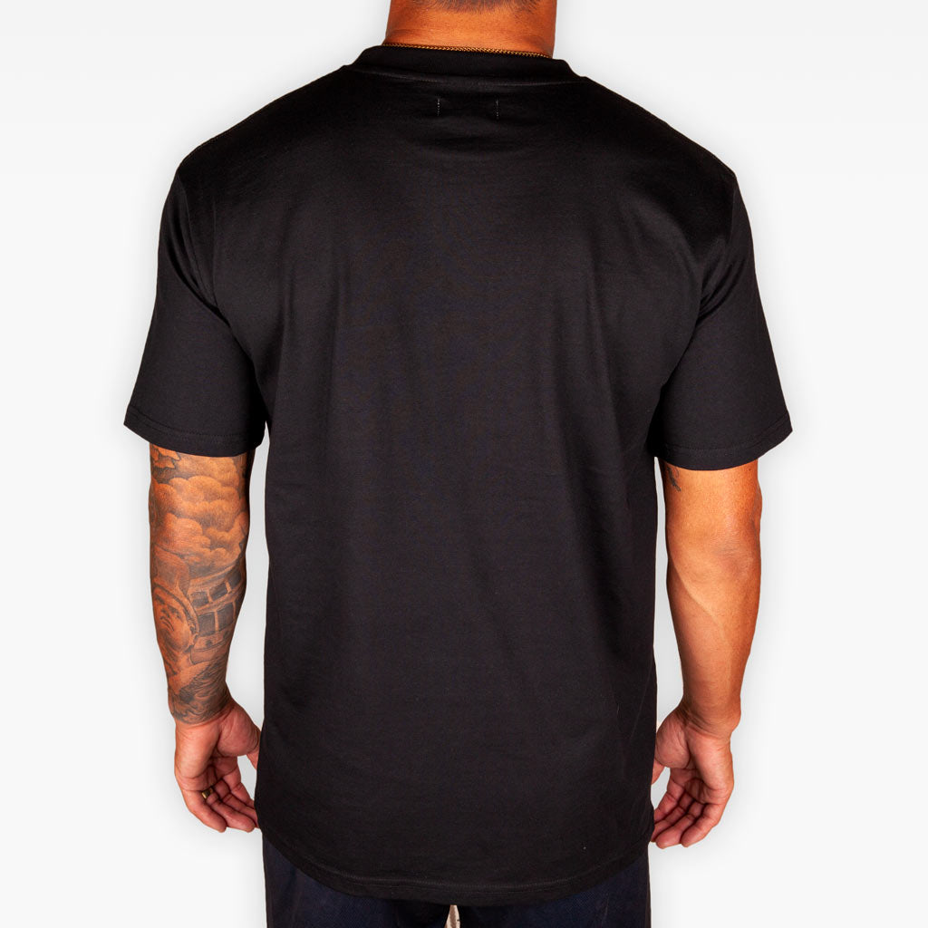 The Fallen Soldier Pocket Tee - Black