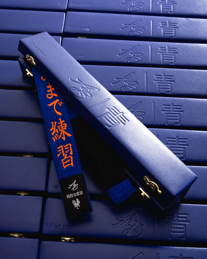 The Limited Edition Blue Belt